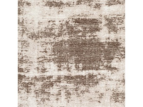 Surya Kilim Dark Brown / Taupe White Cream Square Sample
