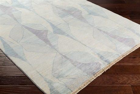 Surya Libra One Rectangular Cream, Medium Gray & Teal Area Rug