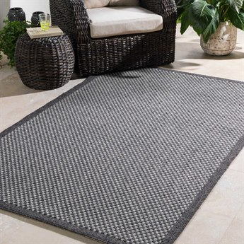 Surya Marmaris Dark Brown / Light Gray Rectangular Area Rug