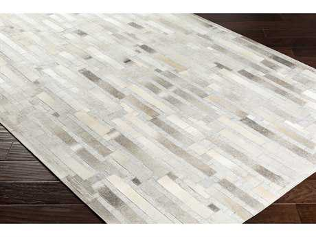 Surya Medora Rectangular Dark Brown, Camel & Light Gray Area Rug