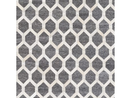 Surya Medora Medium Gray / Cream Square Sample
