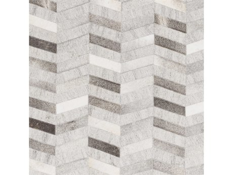 Surya Medora Dark Brown / Camel Light Gray Cream Square Sample