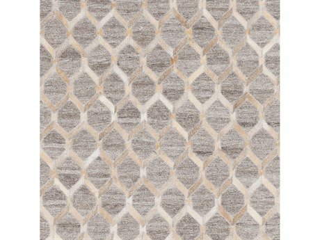 Surya Medora Wheat / Taupe Cream Camel Square Sample