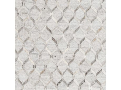 Surya Medora Medium Gray / Cream Light Square Sample