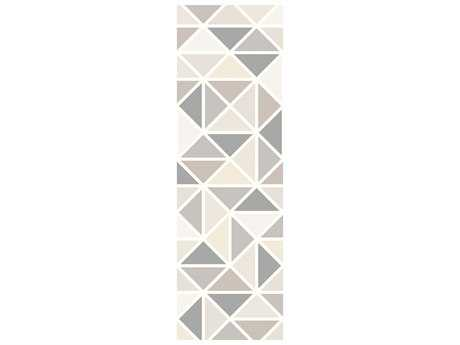 Surya Melody 2'6'' x 8' Rectangular Light Gray Runner Rug