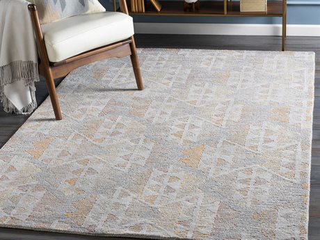 Surya Morse Camel / White / Butter Rectangular Area Rug