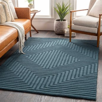 Surya Gypsy Rectangular Green Area Rug Sygyp202rec