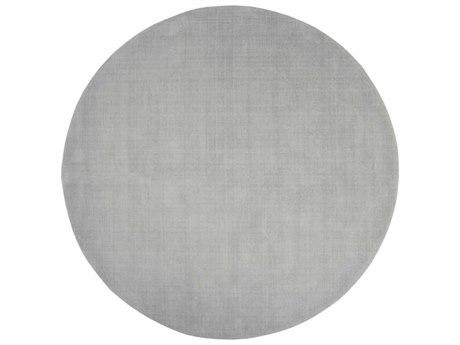 Surya Mystique Light Gray Round Area Rug SYM211ROU
