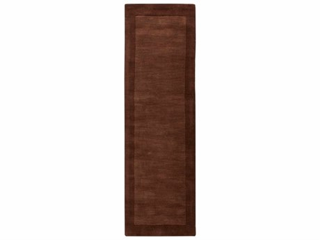 Surya Mystique Dark Brown Runner Area Rug
