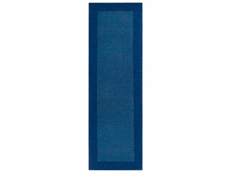 Surya Mystique Dark Blue Runner Area Rug