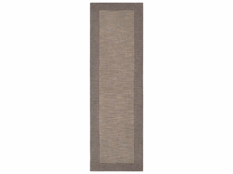 Surya Mystique Taupe / Medium Gray Runner Area Rug