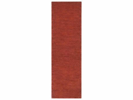 Surya Mystique Rust Runner Area Rug
