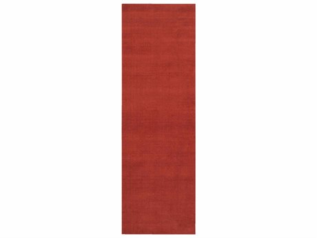 Surya Mystique Burnt Orange Runner Area Rug
