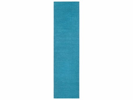 Surya Mystique Bright Blue Runner Area Rug