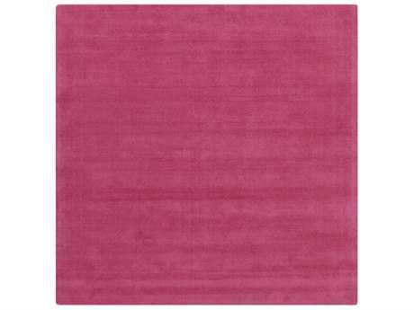 Surya Mystique Square Bright Pink Area Rug