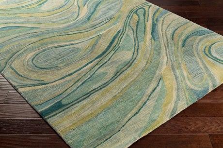 Surya Natural Affinity Rectangular Cream, Sea Foam & Sage Area Rug