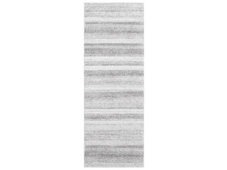 Surya Nepali Medium Gray / Cream / Black Runner Area Rug