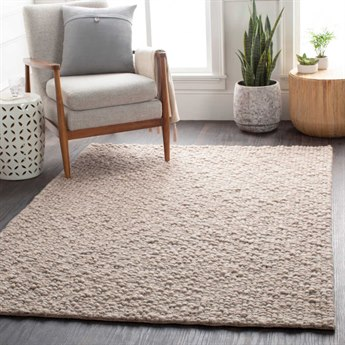 Surya Neravan Taupe / Cream Rectangular Area Rug