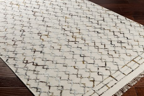 Surya Nettie Rectangular Cream, Tan & Camel Area Rug