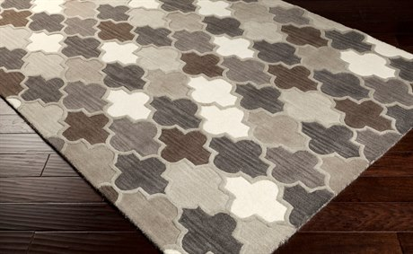 Surya Oasis Rectangular Camel, Light Gray & Taupe Area Rug SYOAS1088REC