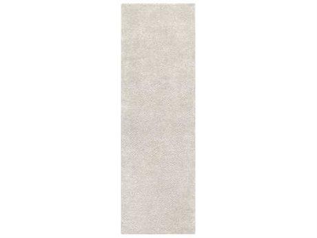 Surya Parma Light Gray / White Runner Area Rug