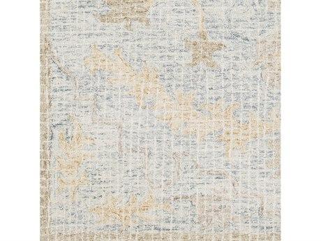 Surya Piastrella Medium Gray / Cream Tan Light Camel Square Sample