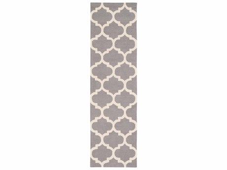 Surya Pollack Medium Gray / Cream Runner Area Rug