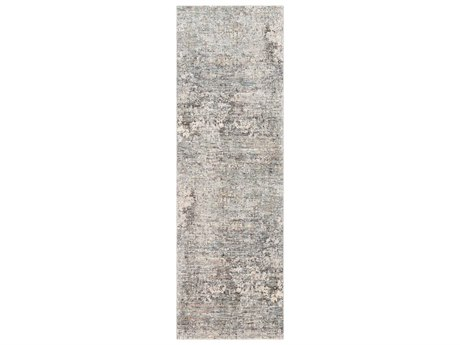 Surya Presidential Pale Blue / Medium Gray Butter Charcoal White Bright Lime Peach Burnt Orange Runner Area Rug