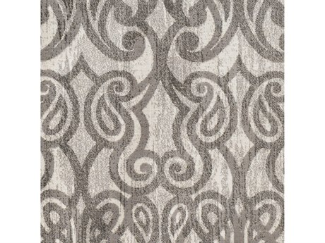 Surya Rafetus Medium Gray / Charcoal White Square Sample