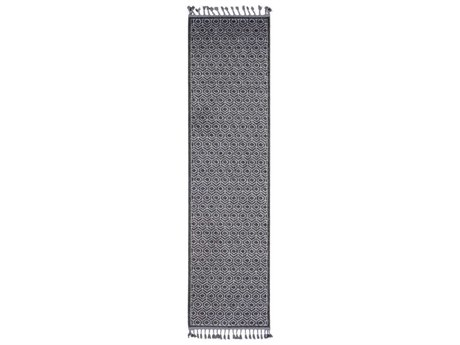 Surya Restoration Charcoal / Black Medium Gray Light Runner Area Rug