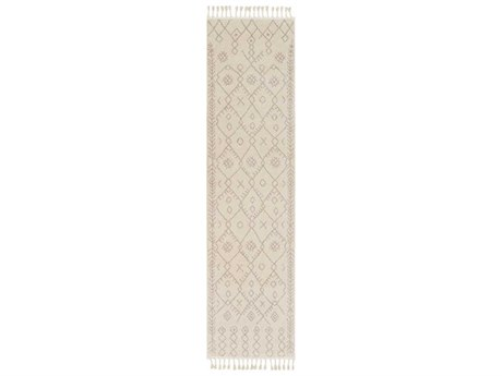 Surya Restoration Cream / Taupe Runner Area Rug