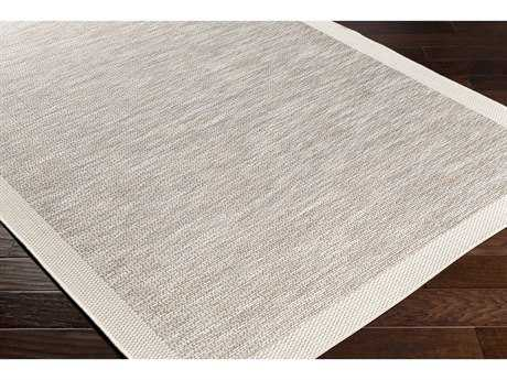 Surya Santa Cruz Rectangular Taupe & Cream Area Rug