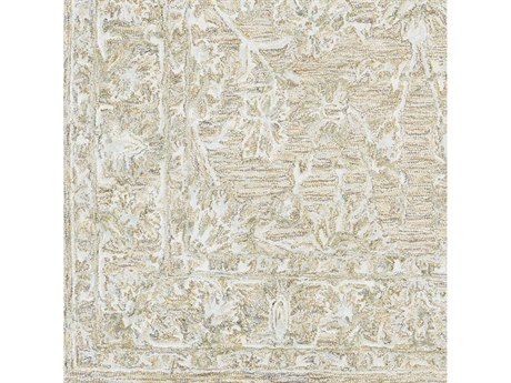Surya Shelby Cream / Medium Gray Tan Light Square Sample
