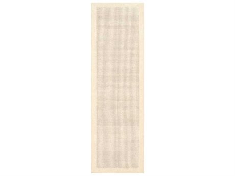 Surya Siena Cream / Light Gray Runner Area Rug