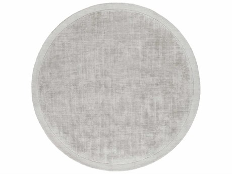 Surya Silk Route Light Gray Round Area Rug SYAWSR4036ROU