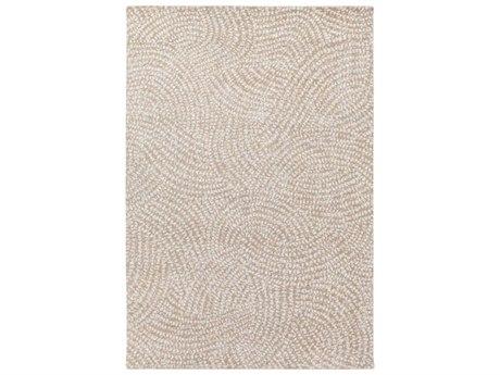 Surya Simpatico Camel / Denim Cream Tan Rectangular Area Rug