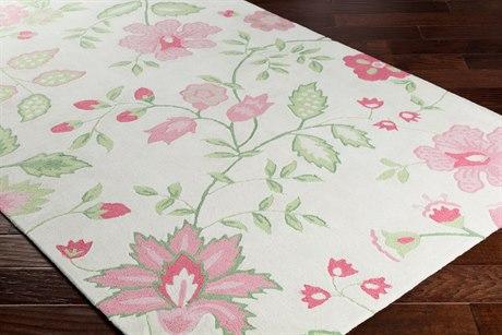 Surya Skidaddle Rectangular Rose, Bright Pink & Pale Pink Area Rug SYSDD4000REC