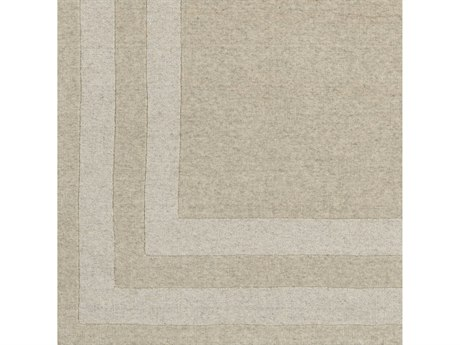 Surya Sorrento Ivory / Taupe Square Sample