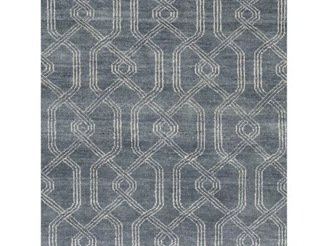 Surya Stanton Charcoal / Ivory Square Sample