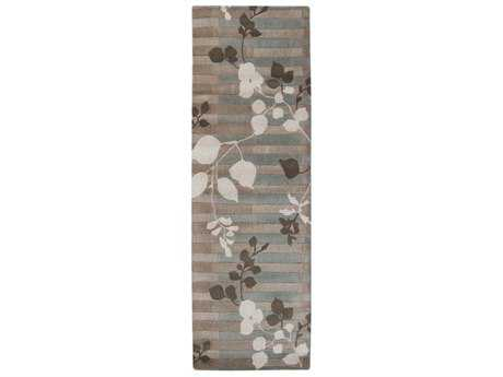 Surya Stella Smith II 2'6'' x 8' Rectangular Ivory, Light Gray & Medium Gray Runner Rug