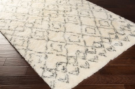 Surya Tasman Rectangular Cream & Dark Green Area Rug SYTAS4500REC