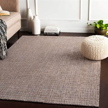 Surya Tatyana Dark Brown / Light Gray Rectangular Area Rug