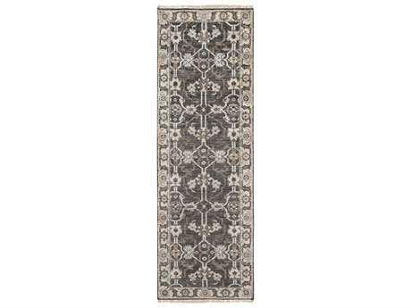 Surya Theodora 2'6'' x 8' Rectangular Light Gray Runner Rug SYTHO3000RUN