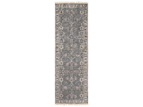 Surya Theodora 2'6'' x 8' Rectangular Light Gray Runner Rug SYTHO3001RUN