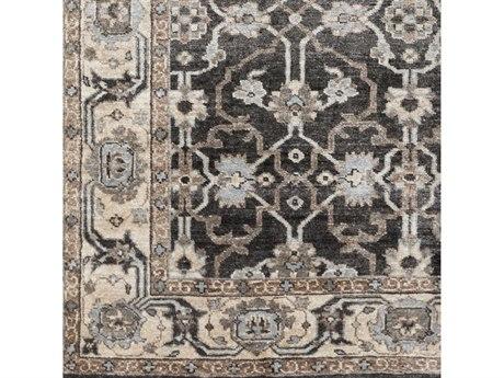 Surya Theodora Black / Medium Gray Pale Blue Khaki Camel Square Sample SYTHO3000SAMPLE