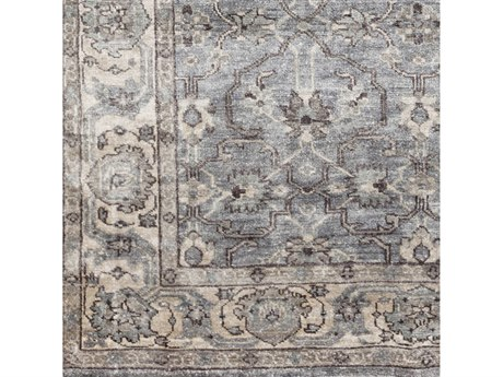Surya Theodora Medium Gray / Light Camel Ivory Square Sample SYTHO3001SAMPLE
