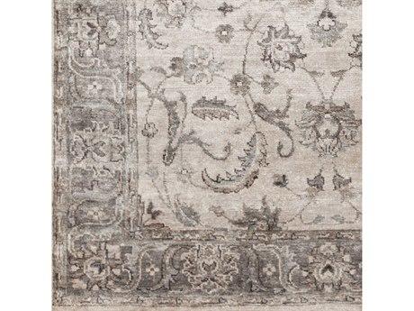 Surya Theodora Medium Gray / Camel Ivory Square Sample SYTHO3003SAMPLE