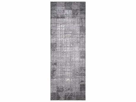 Surya Tibetan Taupe / Medium Gray Cream Runner Area Rug