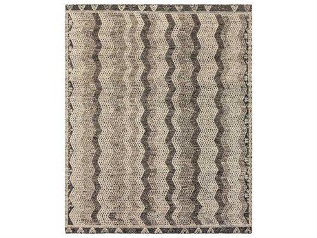 Surya Tunus Ivory / Medium Gray / Dark Brown Rectangular Area Rug