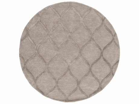 Surya Urban Ivory / Taupe Round Area Rug
